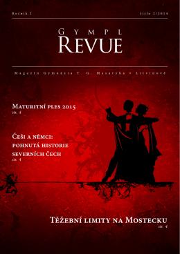 GYMPL REVUE 2 - Gymnázium TG Masaryka, Litvínov