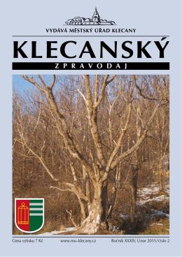 2/2015 - Město Klecany