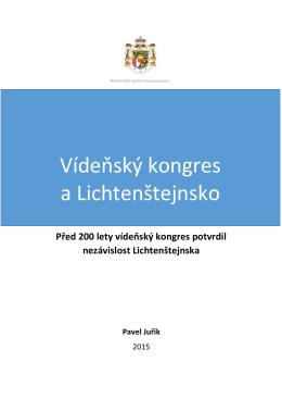 Vídeňský kongres a Lichtenštejnsko