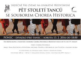Pět století tanců se souborem Chorea Historica