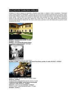 DUCHOVNÍ OHNISKA KRAJE - Muzeum umění a designu Benešov