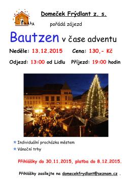 Bautzen v čase adventu