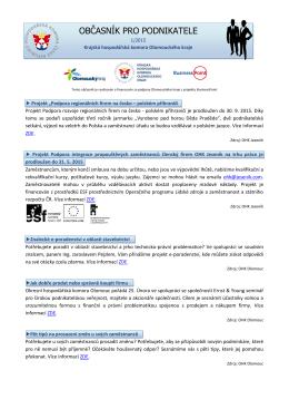 1/2015 - Okresní hospodářská komora v Prostějově