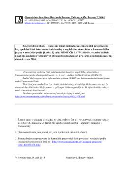 pdf, 320kB - Gymnázium Beroun