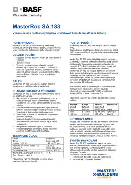 MasterRoc SA 183 - Asset