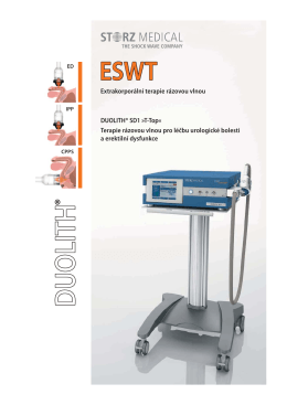 DUOLITH SD1 T-top urologie