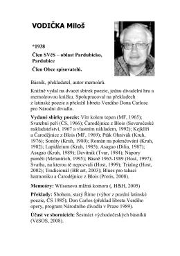 vodička - Středisko východočeských spisovatelů