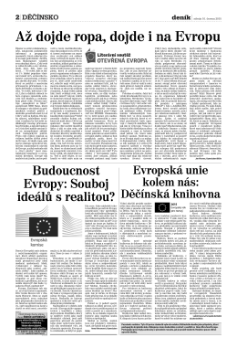 Děčínský deník 10. 6. 2015