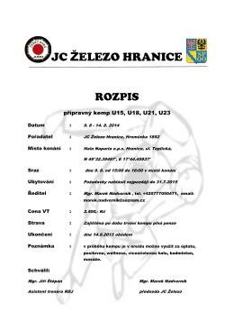 JC ŽELEZO HRANICE