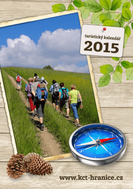 Kalendář turistických akcí - KČT TJ Sigma Hranice 2015