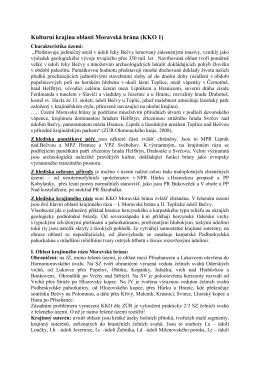 Kulturní krajina oblasti Moravská brána (KKO 1)