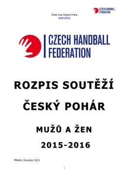 ZDE - Soutěže mužů - Český svaz házené