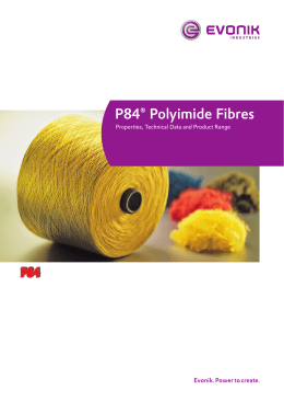 P84 Fibre Technical Brochure
