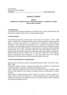 Směrnice č. 25/2015