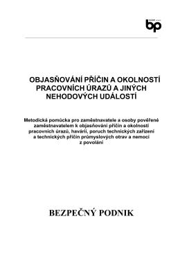 BEZPEČNÝ PODNIK - Znalecký ústav bezpečnosti a ochrany zdraví
