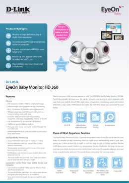EyeOn Baby Monitor HD 360 HD - D