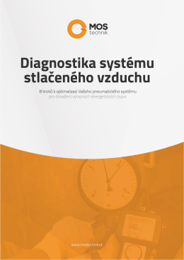 Diagnostika systému stlaÎeného vzduchu