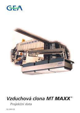 Vzduchová clona MT MAXX - PS