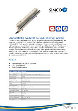 Meb - specifikace