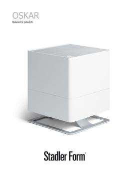 Návod pro zvlhčovač Stadler Form Oskar