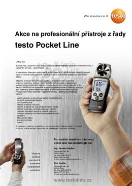 Kapesní přístroje Pocket Line