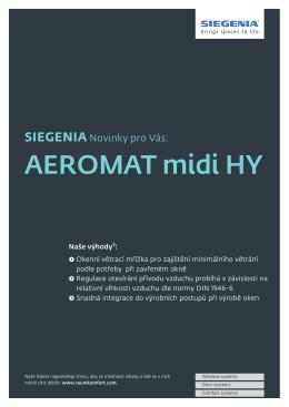 AEROMAT midi HY