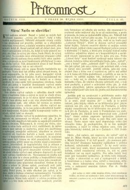 Vydání 28.10. 1931