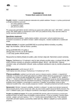CZ PANDOMO BG Terazzo Basic pojivová hmota šedá Specifické
