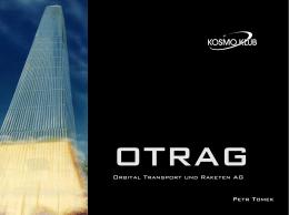 Orbital Transport und Raketen AG Petr Tomek