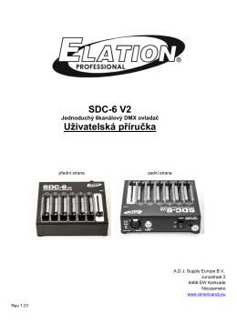 SDC-6 V2 Uživatelská příručka