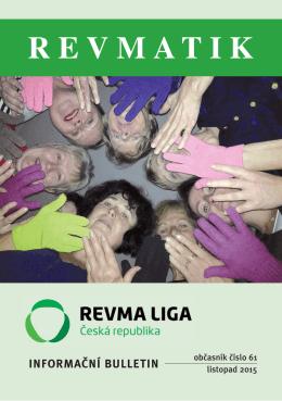 Revmatik č. 61 - Revma Liga v ČR