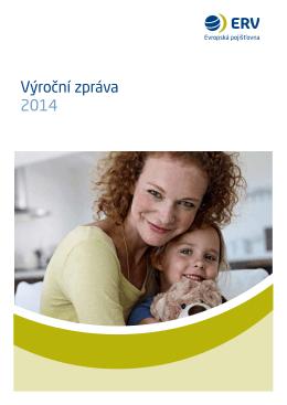 Výroční zpráva 2014 - ERV Evropská pojišťovna