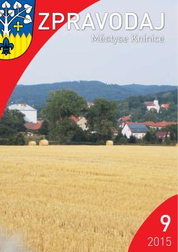 ZPRAVODAJ 9 - Městys Knínice