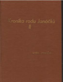 Kronika rodu Janáčků 2. díl