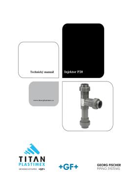 Instrukční manuál pro injektory - TITAN