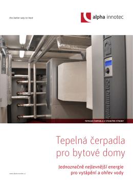 Tepelná čerpadla pro bytové domy
