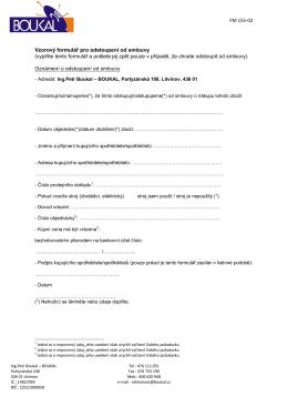 FM 155-02 Vzorový formulář pro odstoupení od smlouvy (vyplňte