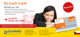 IQ Cash Card