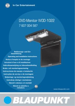 DVD-Monitor IVOD-1022
