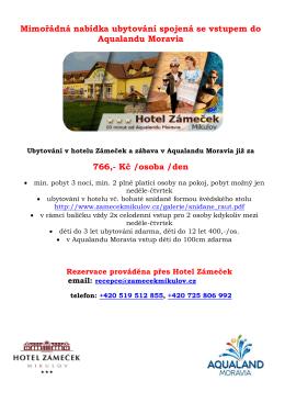 zde - Hotel Zámeček Mikulov