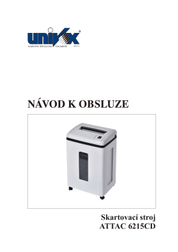 Návod - Univox.cz