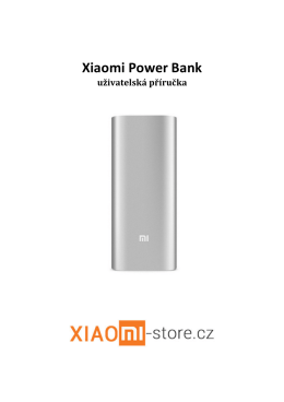 Xiaomi Power Bank - Xiaomi