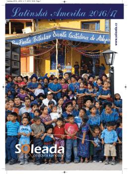 Katalog poznávacích zájezdů Latinská Amerika 2016/17