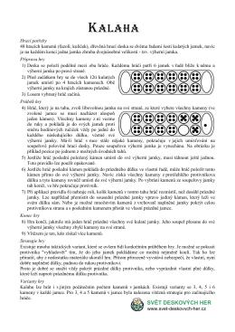 česká pravidla - Svět deskových her