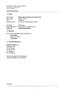 C.5 Plán kontrolních prohlídek stavby