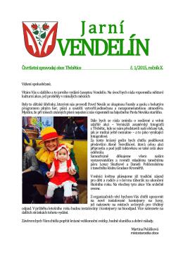 Jarní Vendelín