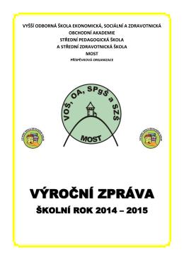 Výroční zpráva 2014/2015 (ve formátu PDF)