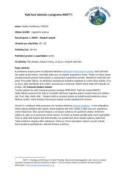 Rybí kost (aktivita z programu RWCT*)