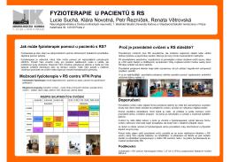 fyzioterapie u pacientů s rs