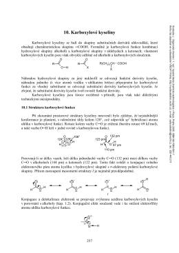 10. Karboxylové kyseliny - Vydavatelství VŠCHT Praha